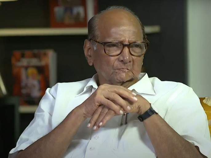 Sharad Pawar Sanjay Raut Interview :Should be live with Corona; It is a part of daily life - Sharad Pawar   कोरोनाबरोबर जगायची तयारी असावी; तो दैनंदिन जीवनाचाच एक भाग- शरद पवार