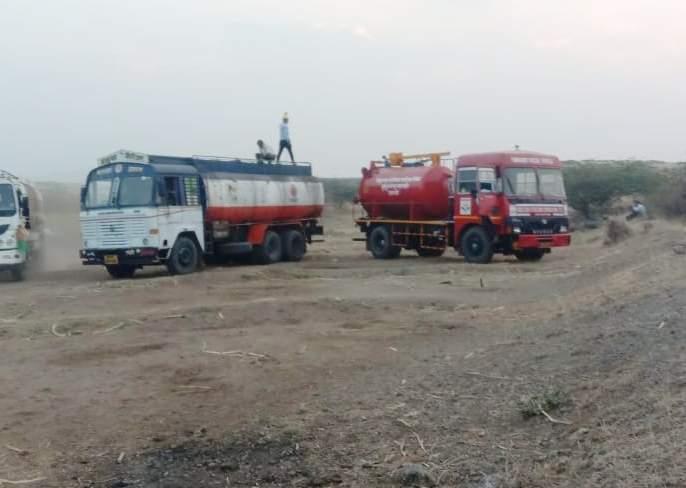 Saswad's wells were filled with chucky petrol and diesel | हद्दच झाली ! चोरट्यांनी केले नियोजन, फोडली चक्क पेट्रोल-डिझेलची पाईप लाईन