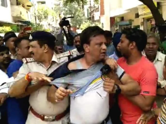 Kailash Vijayvargiya MLA's son arrested; beat up municipal officer | कैलास विजयवर्गीय यांच्या आमदार पुत्राला अटक; पालिका अधिकाऱ्याला केली बॅटने मारहाण