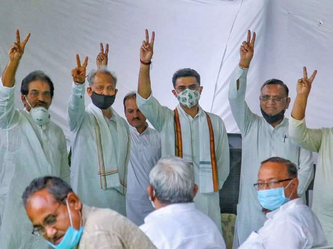 Rajasthan: Ashok Gehlot led Rajasthan Government wins vote of confidence in the State Assembly | Rajasthan Political Crisis: राजस्थानात काँग्रेसचाच 'आवाssज'; अशोक गहलोत सरकारने 'विश्वास' जिंकला!