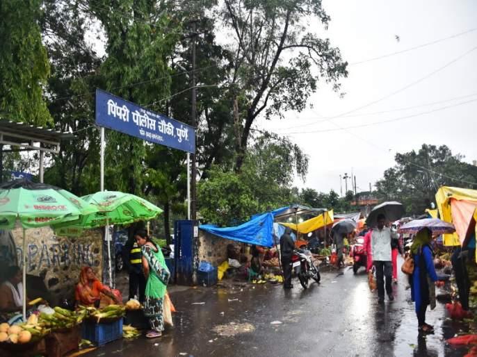The police station in Pimpri gets stuck on the one-way round | पिंपरीतील पोलीस चौकी अडकली ''वन वे '' च्या फेऱ्यात : पार्किंगचीही समस्या