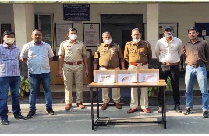 Notorious gangster involved in pistol smuggling arrested in Nagpur | पिस्तुलाच्या तस्करीत गुंतलेला कुख्यात गुंड नागपुरात जेरबंद