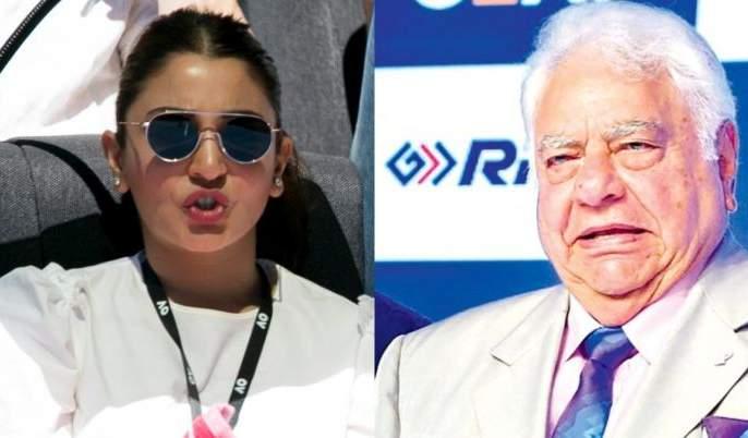 Anushka Sharma's dismissed and criticized cricketer said sorry | अनुष्का शर्माची सटकली आणि टीकाकार क्रिकेटपटूची पायाखालची जमिन सरकली