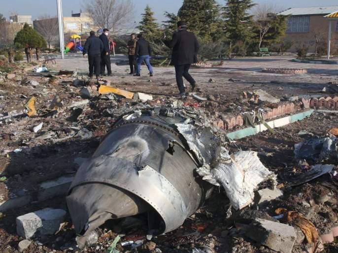 Iranian military, says they 'unintentionally' shot down Ukrainian aircraft | युक्रेनचे विमान चुकून पाडले, इराणी सैन्याने दिली कबुली