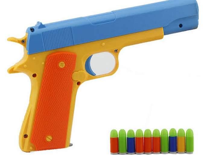 Arresting a bully with a toy gun | खेळण्यातील बंदुकीने धमकावणाऱ्यांना अटक