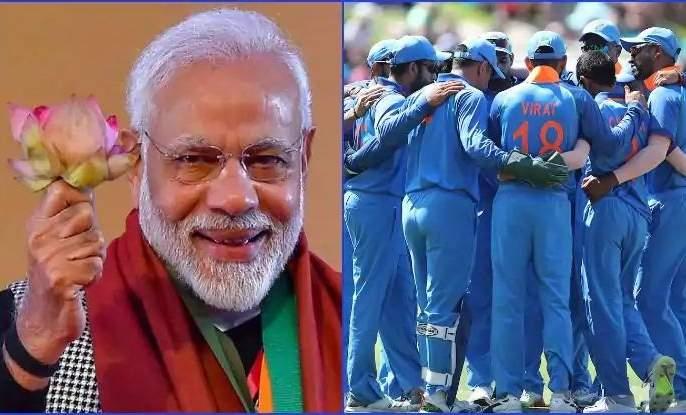 Support PM Narendra Modi ... said India's top cricketer   आपल्या मोदींना साथ द्या... सांगतोय भारताचा अव्वल क्रिकेटपटू