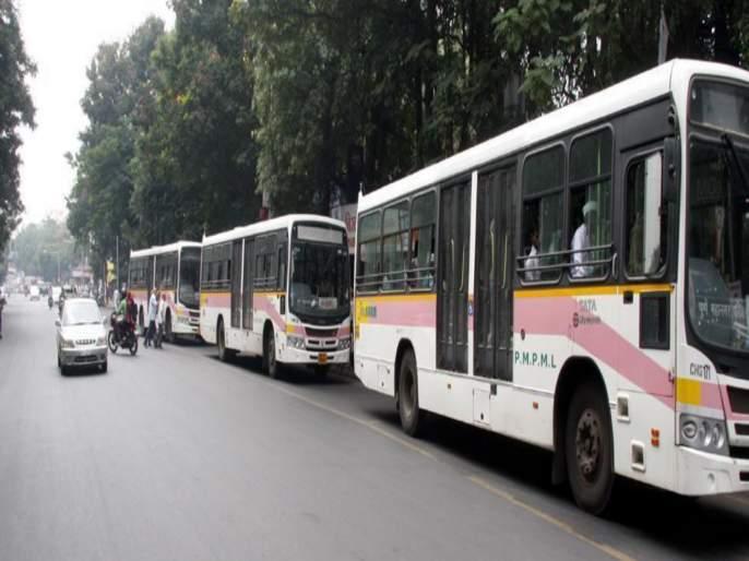 PMP will take 40 bus on rent from former soldires wife.... | माजी सैनिकांच्या पत्नी आणि विधवांकडून पीएमपी घेणार ४० बस भाडेतत्त्वावर