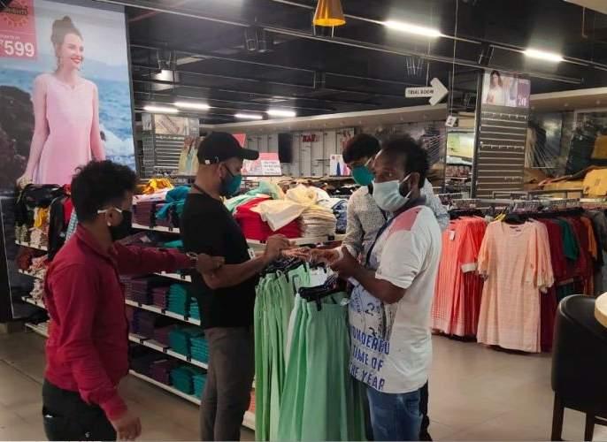Violation of Commissioner's order, filing of case at Big Bazaar in Orion Mall MMG | आयुक्तांच्या आदेशाचा भंग, ओरियन माॅलमधील 'बिग बझार'वर गुन्हा दाखल