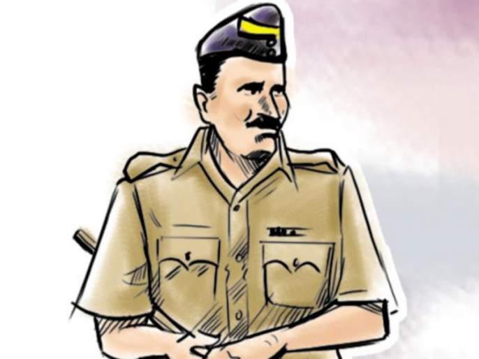 Shocking incident in Pimpri: four wheeler on police body ;police chased and caught accused | पिंपरीतील धक्कादायक घटना : अंगावर गाडी घालत पोलिसाला नेले फरपटत; पाठलाग करून पकडले आरोपीला
