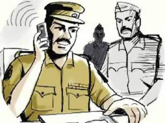Two thief theft senior citizen by told police | पोलीस असल्याची बतावणी करून भरदिवसा दोन भामट्यांनी वृद्धाला लुटले