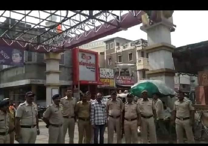 Ayodhya Verdict: Police deployed in Khamgaon city! | Ayodhya Verdict : खामगाव शहरात कडेकोट पोलिस बंदोबस्त!