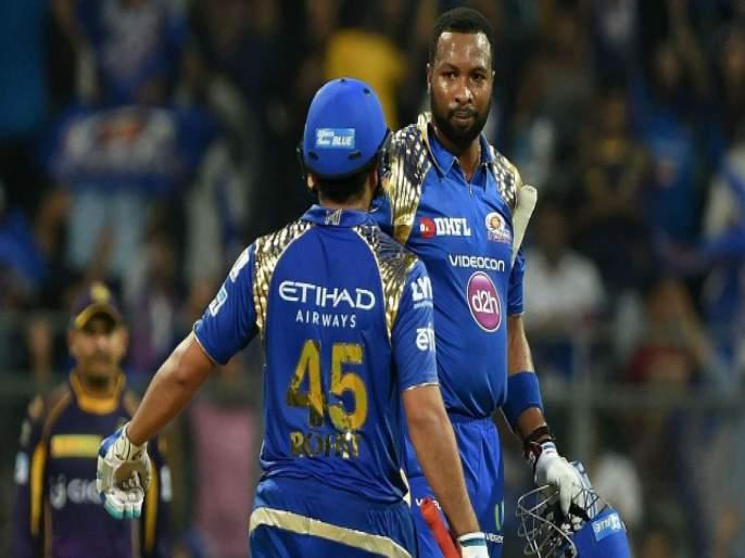 India vs West Indies : Kieron Pollard one of the great thinkers of the game, Say Rohit Sharma   India vs West Indies : किरॉन पोलार्डचे कौतुक करताना रोहितनं सांगितला कोहलीला पुढील धोका