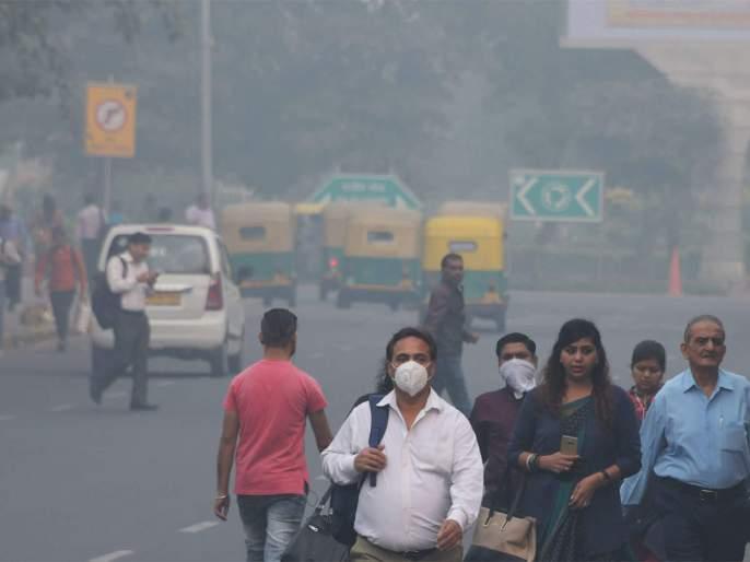 My father ... Solapurkar too is in the throes of Delhi pollution | बाप रे...सोलापूरकरही गुदमरताहेत दिल्लीच्या प्रदूषणात