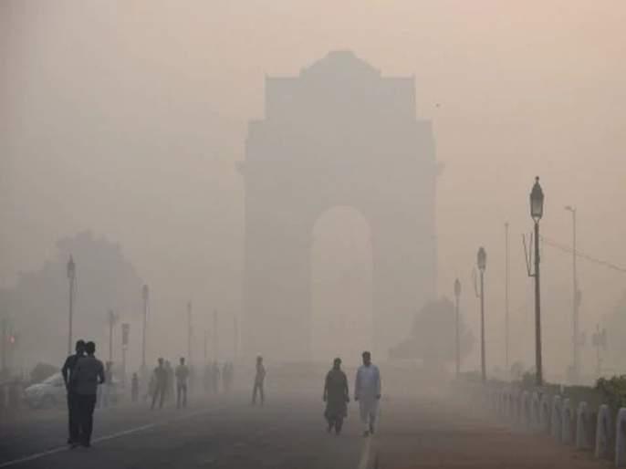 Field fires in Haryana, Punjab, Uttar Pradesh and Madhya Pradesh have increased pollution in New Delhi | हरयाणा, पंजाब, उत्तर प्रदेश, मध्य प्रदेशात शेतामध्ये लावलेल्या आगींमुळे नवी दिल्लीत प्रदूषण वाढले