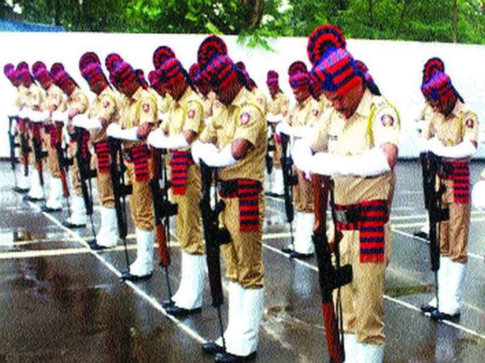 Human Rights Watch for Martyrs Police; Tributes paid by police commissioners | शहीद पोलिसांना मानवंदना; पोलीस आयुक्तांनी वाहिली श्रद्धांजली