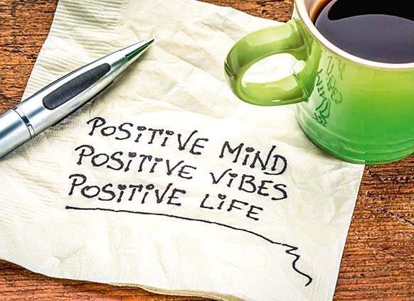 positive attitude, is key to success | पॉझिटिव्ह अॅटिटय़ूड असेल तर टिकाल, नाहीतर गाडी लावा सायडिंगला!