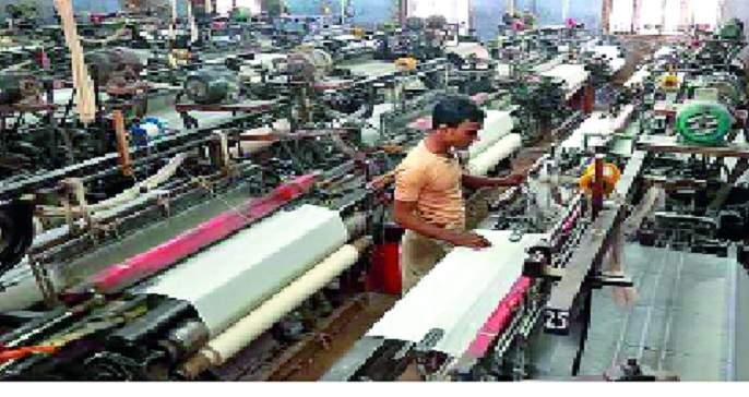 Textile crisis due to export jam   निर्यात ठप्प झाल्याने वस्त्रोद्योग संकटात