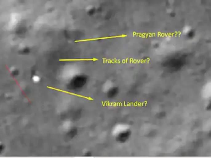 chennai techie claims india chandrayaan 2 rover moving some meters isro | Chandrayaan-2 : चंद्रावर 'प्रज्ञान रोव्हर' ठीक असल्याचा दावा, नासाच्या फोटोंवरून भारताच्या आशा पल्लवित