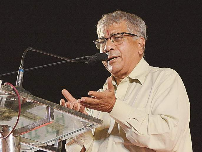 ... Otherwise, sugarcane workers will go on strike from October 1! Prakash Ambedkar's warning to the state government | ... अन्यथा १ ऑक्टोबरपासून ऊसतोड कामगार जाणार संपावर ! प्रकाश आंबेडकरांचा राज्य सरकारला इशारा