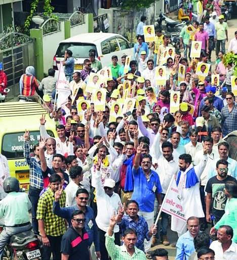 Maharashtra Assembly Election 2019: I am committed to youth employment: Pramod Manamode | Maharashtra Assembly Election 2019 : युवकांच्या रोजगारासाठी मी वचनबद्ध : प्रमोद मानमोडे