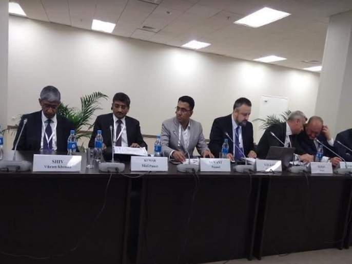 Goa Chief minister Pramod Sawant Russia conference   गोव्याच्या मुख्यमंत्र्यांचा रशियाच्या परिषदेत सहभाग