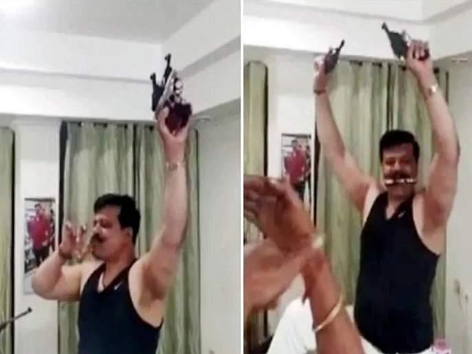BJP suspends gun-toting Uttarakhand MLA Kunwar Pranav Singh Champion for indefinite period | भाजपा आमदाराला 'डिस्को डान्स' पडला महागात, पार्टीतून हकालपट्टी