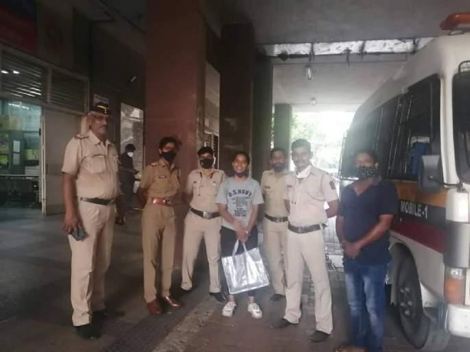 A pregnant woman collapsed on the road, Mumbai police showed readiness and GudiPadva got 'good news'! | गर्भवती महिला रस्त्यावरच कोसळली, मुंबई पोलिसांनी तत्परता दाखवली अन् पाडव्याला 'गुड न्यूज' मिळाली!