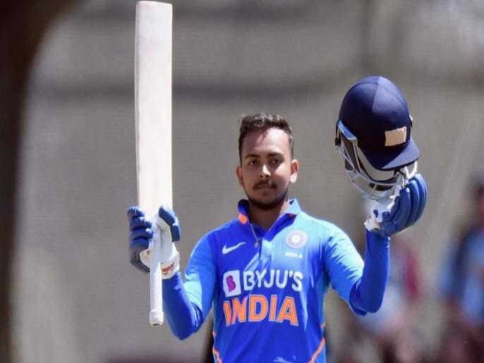 Prithvi shaw scored 150 runs against New Zealand XI, Ready to return to Team India | पृथ्वी शॉनं कुटल्या 150 धावा; टीम इंडियात पुनरागमनासाठी सज्ज