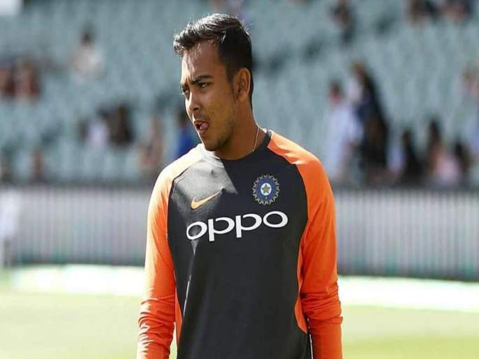 Prithvi Shaw named in Mumbai squad for Syed Mushtaq Ali Trophy as doping ban nears end | पृथ्वी शॉचे संघात पुनरागमन; अखेरच्या सामन्यांत खेळणार