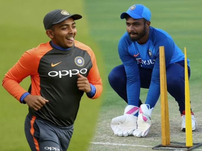 India A won by 5 wickets (with 123 balls remaining) against New Zealand A | टीम इंडियाची पहिल्या वन डेत न्यूझीलंडवर मात; पृथ्वी शॉ, संजू सॅमसनची फटकेबाजी