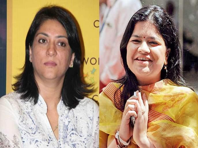 Lok Sabha Election 2019: Priya Dutt's nomination papers signify increasing coloration | Lok Sabha Election 2019: प्रिया दत्त यांच्या उमेदवारीच्या घोषणेने रंगत वाढण्याची चिन्हे