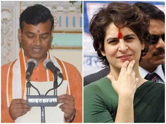 BJP minister political attack on Priyanka Gandhi | प्रियांका गांधी म्हणजे फसव्या व्यक्तीच्या पत्नी; भाजप मंत्र्याची जीभ घसरली