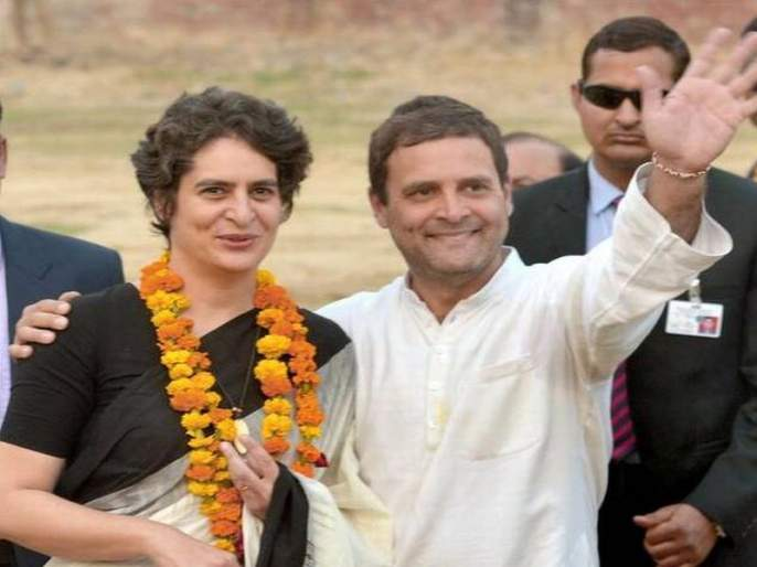 Priyanka Gandhi may become the Chief Ministerial candidate of Uttar Pradesh, in 2022 | 2022 मध्ये प्रियंका गांधी बनू शकतात काँग्रेसच्या उत्तर प्रदेशमधील मुख्यमंत्रिपदाच्या उमेदवार