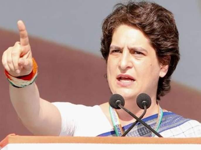 Priyanka Gandhi attacks PM Modi, says economy down by recession, but PM silent on economy | मंदीमुळे आर्थिक उत्पन्न शून्यावर, तरीही मौन बाळगून आहेत पंतप्रधान - प्रियंका गांधी