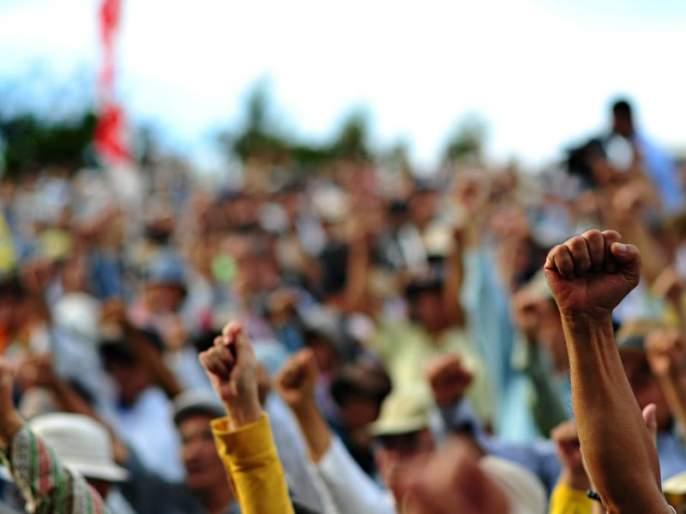 Protest became wor at Pimpri Chinchwad | आंदोलन बनले आखाडा : खासदार बारणे आणि आमदार जगताप यांच्यावर शिव्यांची लाखोली