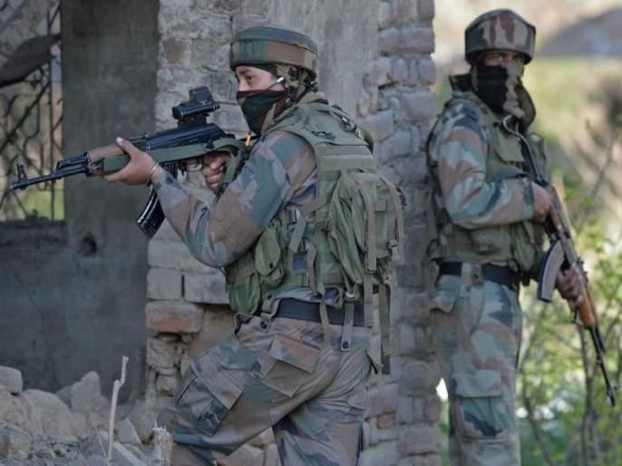 Ceasefire Violation on the border, the execution of two terrorists from the Indian Army | सीमारेषेवर कुरापती सुरूच, भारतीय सैन्याकडून दोन दहशतवाद्यांचा खात्मा