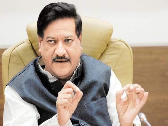 I stick to the statement of the Shiv Sena proposal: Prithviraj Chavan | शिवसेनेने दिलेल्या प्रस्तावाच्यावक्तव्यावर मी ठाम : पृथ्वीराज चव्हाण