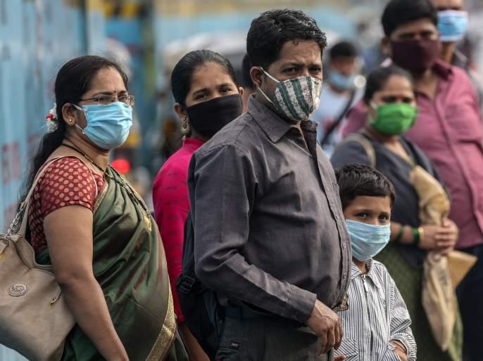 70% wore masks; Infection can be avoided   ७० टक्के लोकांनी मास्क लावला; तर टळू शकेल संसर्ग