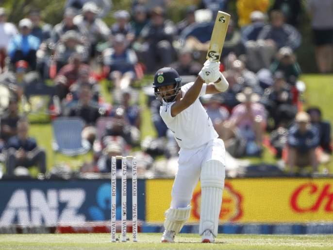 India vs New Zealand, 2nd Test: India all out on first innings by 242 runs after three half centuries   India vs New Zealand, 2nd Test : तीन अर्धशतकानंतरही भारताचा पहिला डाव २४२ धावांत आटोपला
