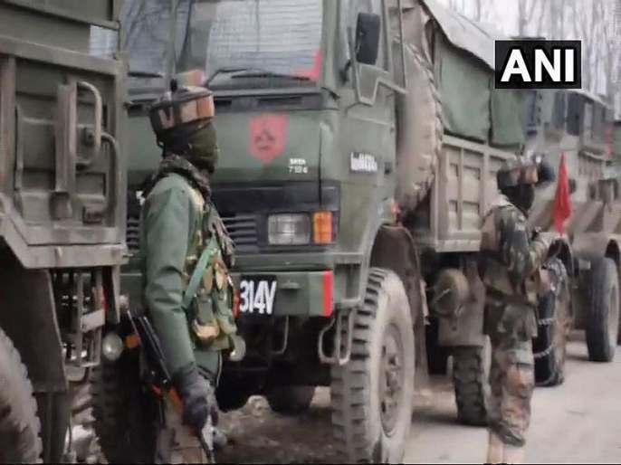 jammu and kashmir encounter between security forces and terrorists in pulwama | Jammu And Kashmir : पुलवामा चकमकीत दोन जवान शहीद, एका दहशतवाद्याचा खात्मा