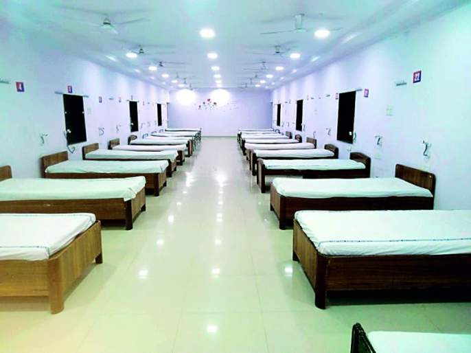 Railway administration ready: 150 beds ready for quarantine in Ajni area | रेल्वे प्रशासन सज्ज : क्वारंटाईनसाठी अजनी परिसरात १५० खाटा तयार