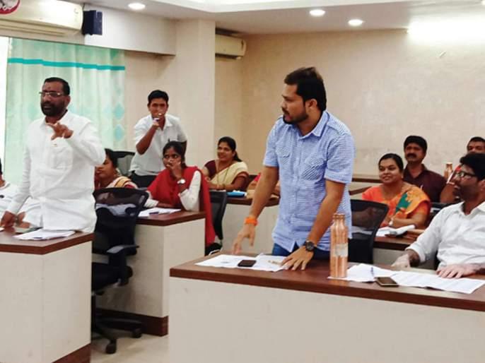 Approval of development works in general meeting | कर्जत नगरपरिषदेच्या सर्वसाधारण सभेत विकासकामांना मंजुरी