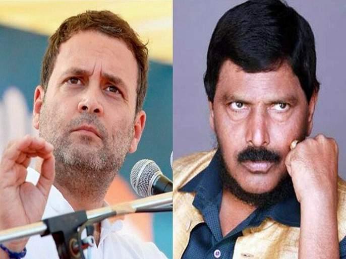 If Rahul Gandhi cannot manage his party well, how would he govern the country? criticism by Ramdas Athawale | राहुल गांधी पक्ष सांभाळू शकले नाही, देश काय सांभाळणार? आठवलेंची बोचरी टीका