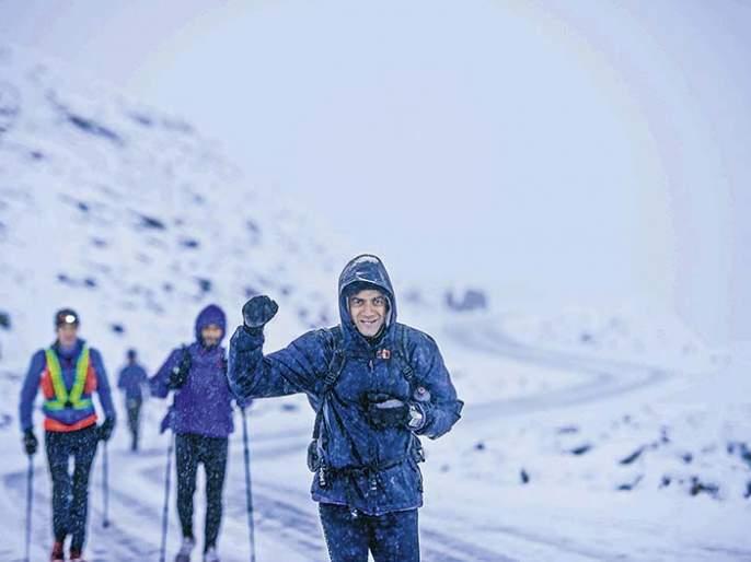 Meet the 555km marathon runner from Pune | भेटा साडेपाच दिवसात 555 किलोमीटर मॅरेथॉन धावणार्या पुणेकराला!