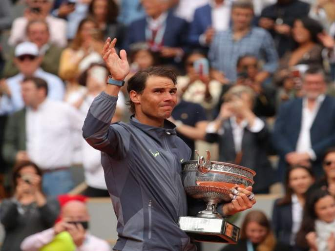 Rafael Nadal sweeps to 12th French Open and 18th Grand Slam title | नदालचा विक्रमी 'फ्रेंच किस', बाराव्यांदा मारली बाजी