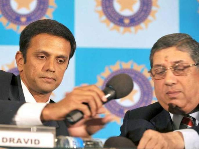 Breaking : Rahul Dravid cleared of conflict of interest charges by BCCI ethics officer | Breaking : राहुल द्रविडबाबत BCCIचा मोठा निर्णय, हितसंबंध जपण्याचे प्रकरण