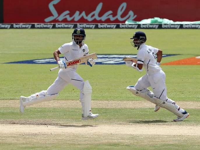 India in a strong position in the first Test, Rahane-Kohli's century partnership | रहाणे-कोहलीची अभेद्य शतकी भागीदारी, पहिल्या कसोटीत भारत भक्कम स्थितीत