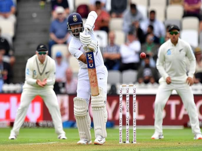 New Zealand vs India 1st Test : Rishabh Pant's run out is the first time Ajinkya Rahane has involved in a run out dismissal in his Test career of 63 Test matches | NZ vs IND, 1st Test : अजिंक्य रहाणेकडून प्रथमच झालेली 'चूक' टीम इंडियाला महागात पडणार?