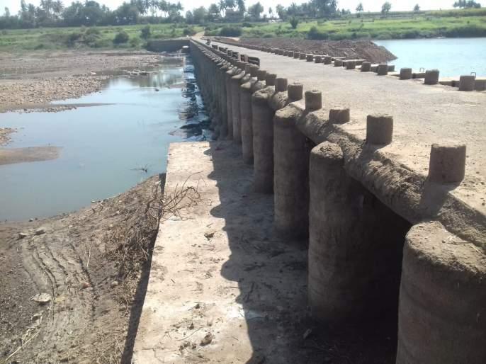 Settling Rajapur Bond | राजापूर बंधाऱ्यास बंदोबस्त