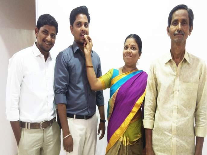 Classy officer becomes part of Vidy Kamgar | विडी कामगाराचा पोरगा झाला क्लासवन अधिकारी